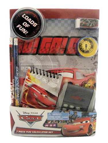 Disney Cars Calculator Set - 7-Piece