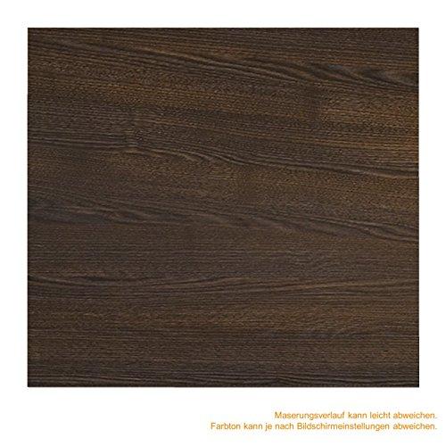 inova Holz-Schiebetür 880 x 2035 mm Wenge Alu Komplettset mit Lauf-Schiene und Griffmuschel inkl. Softclose - 7