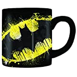 COFFEE MUG: Our novelty ceramic coffee mug holds 20-ounces of your favorite beverage, so you can battle through your next morning while channeling the strength of Batman and caffeine MULTIPLE USES: Not just for coffee, our novelty coffee mug can also...