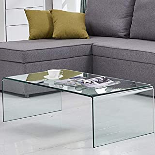 Amazoncom Glass Coffee Tables Tables Home Kitchen