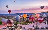 Deerbird Jigsaw Puzzle 1000 Pezzi per Adulti, Mongolfiere della Cappadocia Turchia Paesagg...