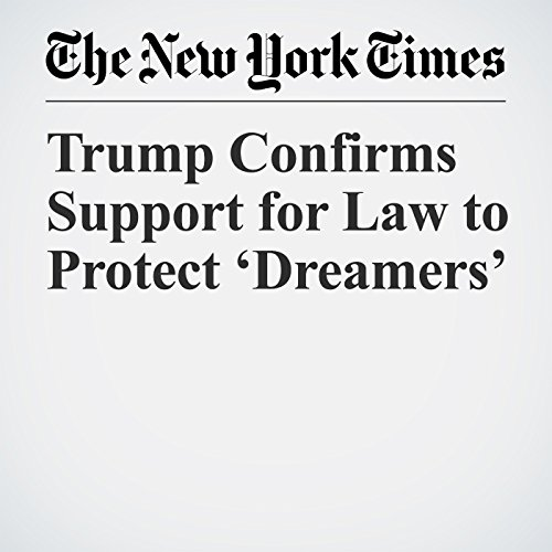 Trump Confirms Support for Law to Protect 'Dreamers' copertina