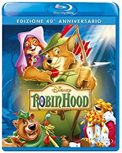 robin hood (se 40 anniversario) blu_ray Italian Import