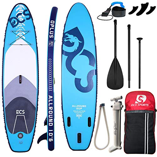 """Airgymfactory Inflatable Stand Up Paddle Boards Premium SUP Accessories & Carbon Fiber Adjustable Paddle & Inflation and Deflation Double Action Bravo Pump 10'/10'6""""/12'6"""""""