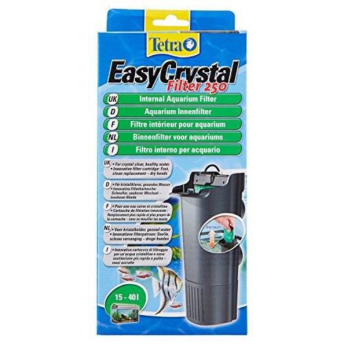 Tetra EasyCrystal Aquarium Innenfilter IN 250 - Filter für kristallklares gesundes Wasser, einfache Pflege, intensive mechanische, biologische und chemische Filterung
