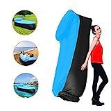 210T Portable étanche Polyester Air Sofa gonflable Lounger, Air Canapé, sofa gonflable, Air lit plage chaise longue pour voyageurs, Camping, Parc, Jardin