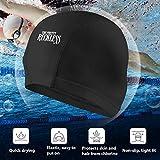QF9USFEI The Pretty Reckless Swim Cap, High Elasticity Swimming Cap Keeps Hair Clean Breathable Fit Both Long Hair Short Hair