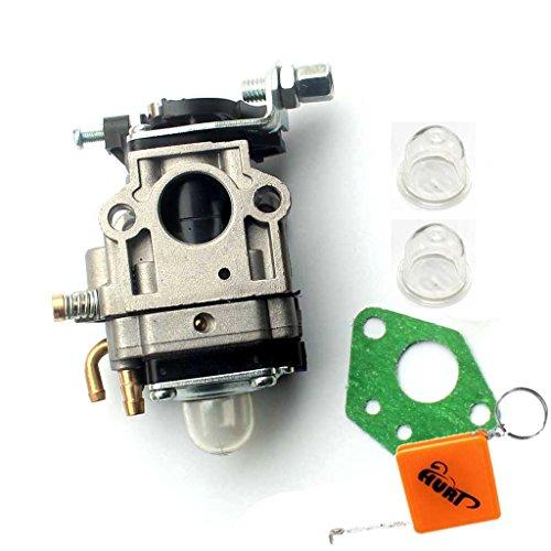 HURI Carburateur avec Joints avec Pompe d'allumage pour débroussailleuses 52ccm et 49ccm Timbertech