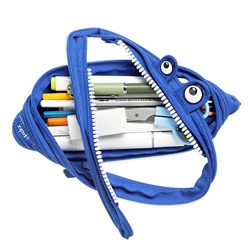 ZIPIT Monster Pencil Case, Royal Blue Photo #6