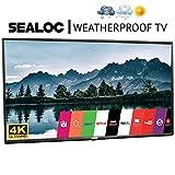 Outdoor TV Full Weatherized 43' UHD Smart Weatherproof LED Television Sealoc 4K