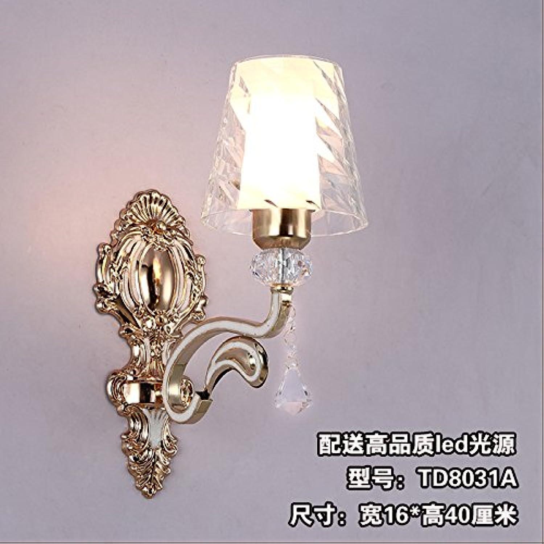 BESPD Euro Sofas im Dual Head groes Zimmer Wandleuchte für Wohnzimmer Restaurant Flur Treppe Schlafzimmer Nachttischlampe Lampe Td8031Aled