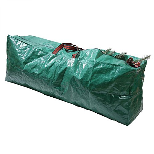 Taylor & Brown Green Artificial Christmas Tree Storage Bag - Suitable for up to 9ft Tall Xmas Trees