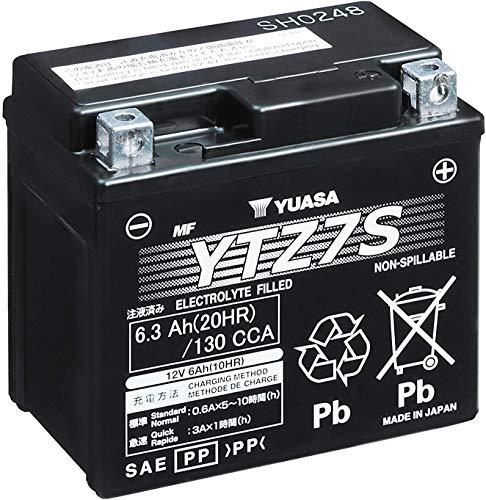 Yuasa YTZ7S - Batería para motocicleta