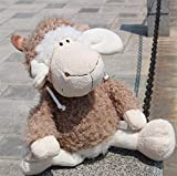 JUNMAIDZ Juguete Venta 45 cm Ovejas de Dibujos Animados Shawn Toys Toys Peluche Kawaii Algodón Animal Ovejas de Las ovejas de los Juguetes para los niños. Peluche (Height : 25 cm)