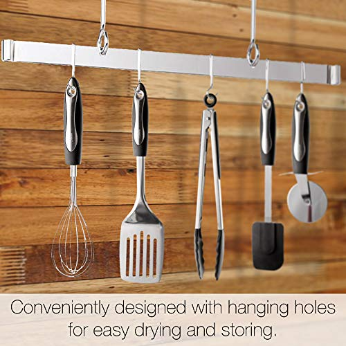 25-Piece Stainless Steel Kitchen Utensil Set   Non-Stick Cooking Gadgets and Tools Kit   Durable Dishwasher-Safe Cookware Set   Kitchenware G   ift Idea, Best New Apartment Essentials