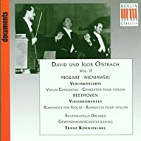 David und Igor Oistrach Violin Concertos, Vol. 1 by Bach (1994-02-01)