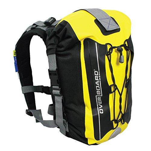 Overboard Mochila impermeable capacidad 20 l color amarillo