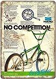 Kilburn HARO Master Freestyle BMX Bicycle Retro Creative Wall Decoration Personality Trend Background Simple Style Iron Painting