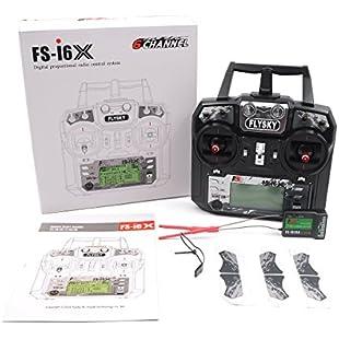 Flysky FS-i6X 10CH 2.4GHz AFHDS RC Transmitter with FS-iA10B Receiver