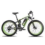 Extrbici XF800 1000W 48V 13AH Bicicleta eléctrica 26 'Marco de aleación Suspensión Completa 7 Velocidades Shimano 5 Configuración de Smart Computer Aceite hidráulico Apagado de Frenos de Disco