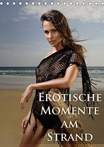 Erotische Momente am Strand (Tischkalender 2021 DIN A5 hoch)