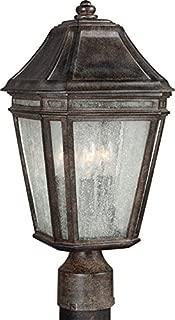 Feiss OL11307WCT-LED Londontowne LED Marine Grade Outdoor Post Lighting, Bronze, 1-Light (8