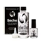 Seche Clear Crystal Clear Base Coat Professional Kit 2 Piece Set
