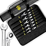 Ratcheting Wrench Set - Unbreakable - (22 PIECES METRIC & INCH...