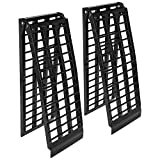 Rage Powersports 7' 10' Black Widow 4-Beam Extra Wide Arched Dual Runner ATV Loading Ramps