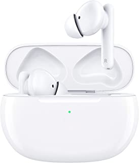Wireless Earbuds, Bluetooth 5.0 Active Noise Cancelling Earphones 4 Built-in Mics in-Ear Earbuds with IPX5 Waterproof 19H ...