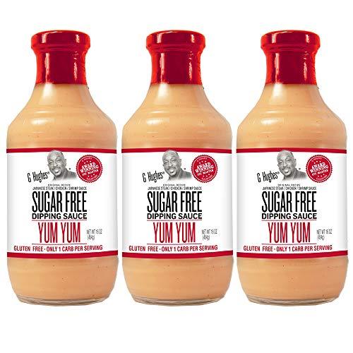 G Hughes Sugar Free Yum Yum Sauce (3 Pack)