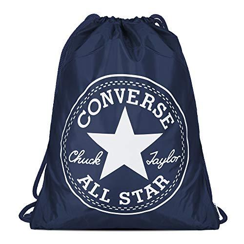 Converse Unisex Gym Cinch Bag Deep Navy White