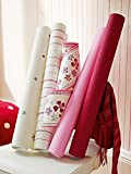 Esprit Home Bordüre Girls Dreams Vlies 5,00 m x 0,13 m rot lila weiß Made in Germany 941273 94127-3 - 5