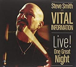LIVE! One Great Night [CD/DVD Combo] by Steve Smith And Vital Information (2012-05-04)
