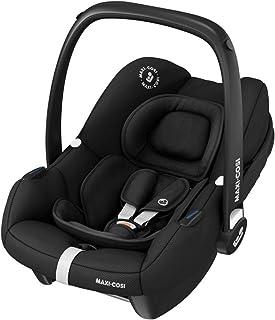 Maxi-Cosi Tinca i-Size Babyschale, sehr leichter Gruppe 0 Autositz nur 3,2kg, inkl. Sonnenschutz, nutzbar ab der Geburt bis zu 75 cm 0-12 kg, Essential Black, Schwarz