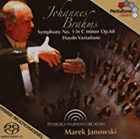 Symphony 1 / Variations by JOHANNES BRAHMS (2007-08-28)