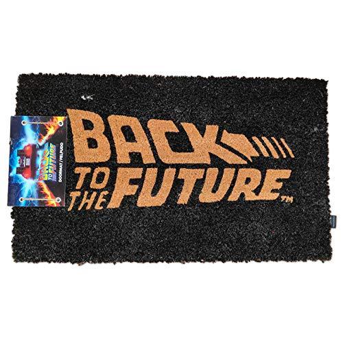 Felpudo Logo Regreso al Futuro