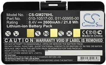 2600mAh Battery for Garmin GPSMAP 276, GPSMAP 276c, GPSMAP 296, GPSMAP 376