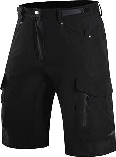 Wespornow Men's-Mountain-Bike-Shorts-MTB-Cycling-Shorts with Zipper Pockets