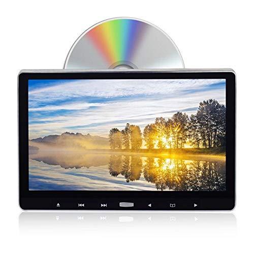 2020年進化型 耐震デバイス搭載11.6インチヘッドレストモニター dvd スロットイン式 dvdプレーヤー HDMI入...