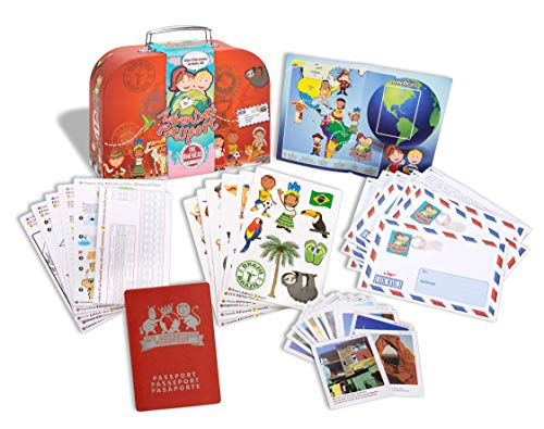 Adventure Passports Pasaporte a La Aventura Geo Discovery Juguete Educativo, Multicolor (World Alive 5003) , color/modelo surtido