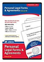 Adams個人法的フォームと契約on CD、ホワイト( ss4322)