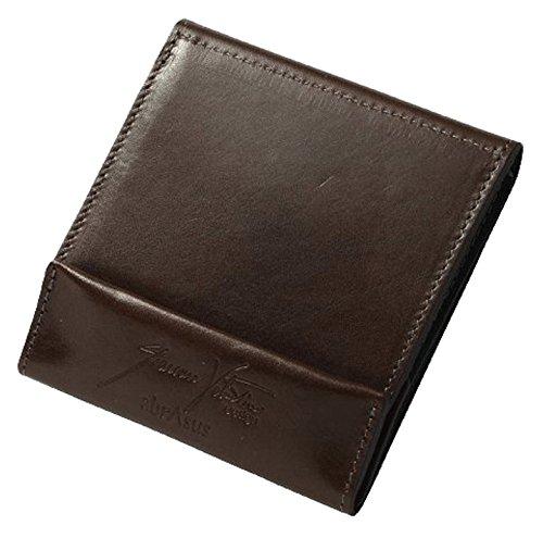 薄い財布 abrAsus × Giacomo Valentini チョコ
