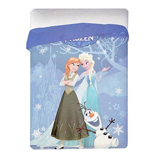 Trapunta Quilt invernale Frozen Winter Disney per letto Singolo una piazza Q243