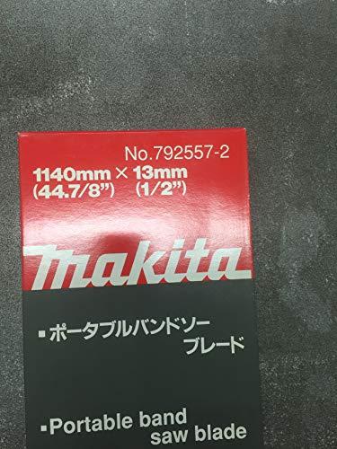 Makita 792557-2-Lama per sega a nastro HSS 0 x 13 x 5 mm per x1140 14 dpp ghisa e acciaio