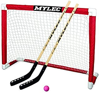 Mylec Deluxe Folding Hockey Goal Set (Renewed)