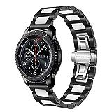 TRUMiRR 22mm Keramik Uhrenarmband Schnellspanner Armband kompatibel für Huawei Watch GT 2 (46 mm), Samsung Gear S3 Frontier Classic, Samsung Galaxy Watch 46mm, Huawei Watch GT