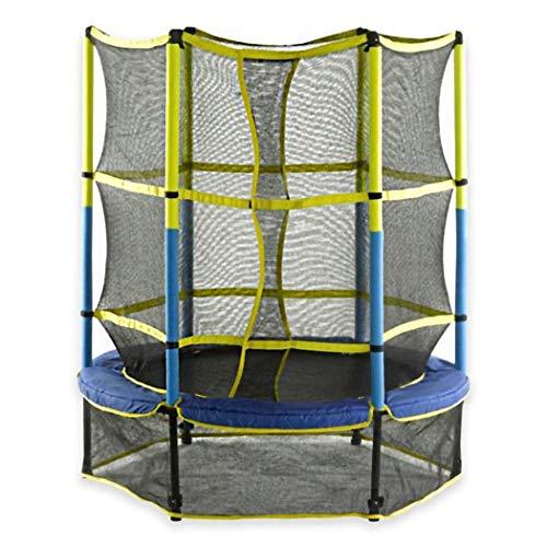 5FT Garden Trampoline for Kids, Outdoor Indoor Elastic Bouncer with Safety Enclosure Net for Play And Exercise Jumping Trampoline for Kids And Adult