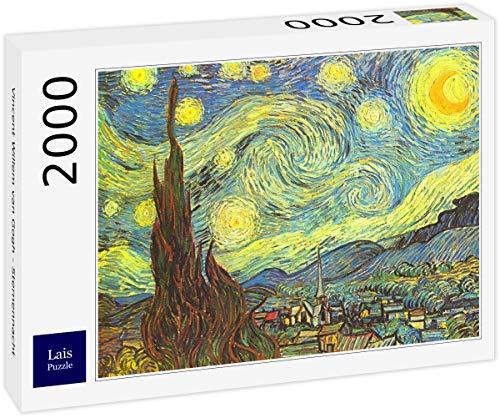 Lais Puzzle Vincent Willem Van Gogh - Notte Stellata 2000 Pezzi