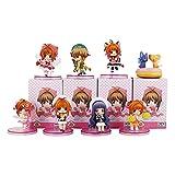 8 Unids / Set Anime Card Captor Sakura PVC Figuras Juguetes 5 Cm, Kinomoto Sakura Daidouji Tomoyo Li Syaoran Kero